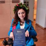 Arianna Giulianelli, più forte di ogni ostacolo, si laurea in Giurisprudenza