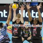 La Sir Safety Perugia si impone al tie break all'Eurosuole Forum in Gara 2