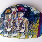 Anche sui sassi i segni colorati di Carlo Iacomucci