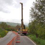 Avviati i lavori per ripristinare la strada provinciale Tolentino - Abbadia di Fiastra, danneggiata dal sisma