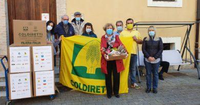 La solidarietà della Coldiretti bussa alla porta della casa di riposo
