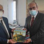 Il nuovo Prefetto Tommaso Ricciardi ricevuto dal presidente della Provincia di Pesaro Urbino