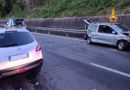 Due feriti nello scontro tra auto lungo la variante alla Statale 77