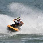 Moto d'acqua in gara nel mare di Ancona per il campionato italiano