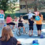 L'educazione stradale non va in vacanza: la Polizia locale incontra 50 bambini e ragazzi di un centro estivo