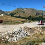 Tra i monti di Bolognola i Vigili del fuoco alla ricerca di una persona scomparsa / Video