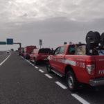 Troppi incendi in Italia, i Vigili del fuoco di Ascoli e Fermo partiti per la Calabria