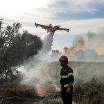 Emergenza incendi anche nelle Marche, bloccate a lungo autostrada e linea ferroviaria / Video