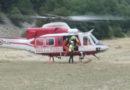 Turista in difficolta nei pressi del Lago di Pilato soccorso dai Vigili del fuoco / Video