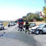 Due feriti nello scontro tra due auto alla periferia di Numana