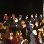 Commemorazione nella notte a 5 anni dal sisma che ha devastato Pescara del Tronto e Arquata del Tronto