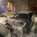 Quattro auto in fiamme nella notte, aperta la caccia al piromane