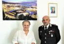 Il nuovo comandante provinciale dei Carabinieri colonnello Carlo Lecca in visita al sindaco di Ancona