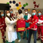 Dalla Croce Rossa e da Un Battito di Ali un utilissimo dono per i bambini dal cuore birichino