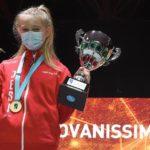 La pesarese Emma Venarucci e la jesina Elisa Fattori conquistano il titolo italiano al Gran premio giovanissimi Renzo Nostini